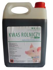 Kwas rolniczy, mlekowy CIEMNY zakwaszacz op. 5kg