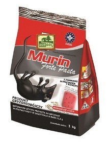 MURIN FORTE PASTA (bromadiolone) op. 1kg