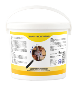 DERAT Monitoring 1kg wabik bez substancji czynnej