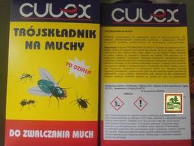 Culex TRÓJSKŁADNIK 300g NA MUCHY DO MALOWANIA POWIERZCHNI PROSZEK  + ROZCIEŃCZALNIK