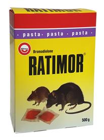 Ratimor trutka na myszy na szczury 500g saszetki
