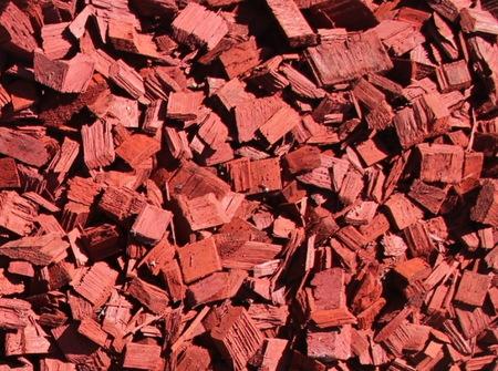 Zrębki Kolorowe Dekoracyjne Czerwone 50l