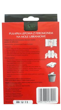 Sens feromonowa pułapka na mole ubraniowe 2 szt (2)