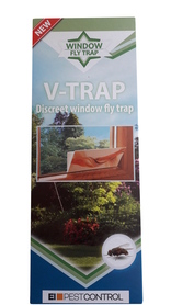 Pułapka na muchy dyskretna wabik FLY V-TRAP