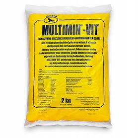 Multimin-Vit minerały mączka witaminy 2kg