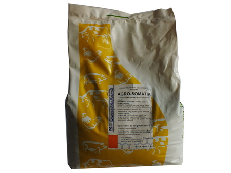 AgroSOMATIK na komórki somatyczne, bydło, mleko 5kg (1)