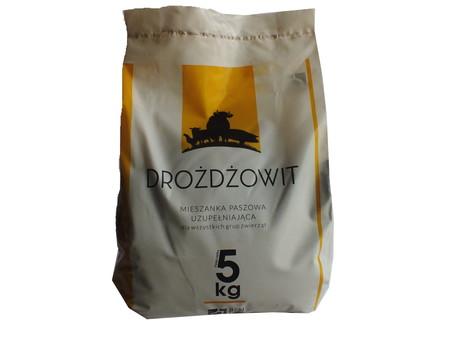 DROŻDŻOWIT drożdże paszowe+ selen op. 5kg (1)