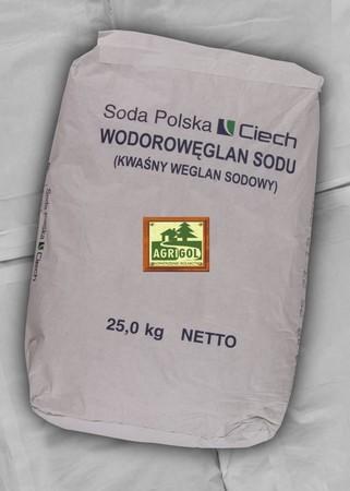 KWAŚNY WĘGLAN SODU wodorowęglan sodu op. 25kg jakość paszowa/ spożywcza (2)