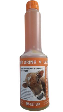 LAKTO START DRINK pójło dla krów po wycieleniu w płynie WLEWKA 440G (1)