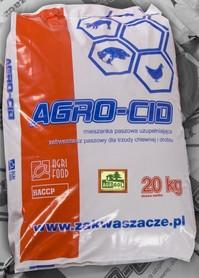 AGRO-CID FERMOWY, zakwaszacz paszowy, NA BIEGUNKI 5 kg