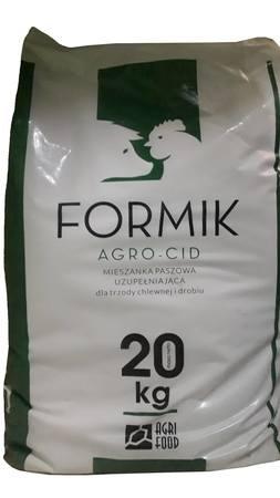 AGRO-CID FORMIK zakwaszacz paszowy, przeciwbiegunkowy 20 kg (1)