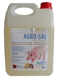 AGROSAL zakwaszacz w płynie,kwasy mrówkowy,mlekowy 5kg