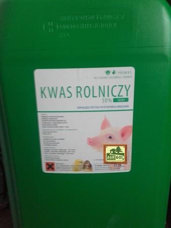 Kwas rolniczy, mlekowy CIEMNY zakwaszacz op. 25kg (2)