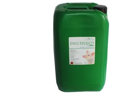 Kwas rolniczy, mlekowy CIEMNY zakwaszacz op. 25kg (1)