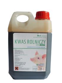Kwas rolniczy, mlekowy CIEMNY zakwaszacz op. 2kg
