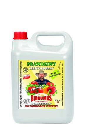 BIOHUMUS EXTRA do pomidorów i papryki 5,0 l. (2)