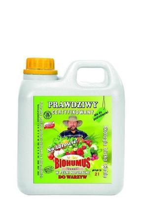 BIOHUMUS EXTRA do warzyw - nawóz ekologiczny BIO 2l (1)