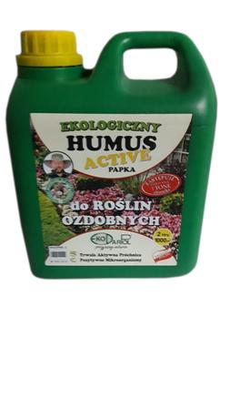 HUMUS ACTIVE PAPKA do roślin ozdobnych 2,0 L. (2)