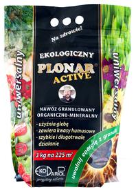 Plonar Active uniwersalny 3 kg nawóz organiczno-mineralny .