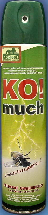 KO-much aerozol 300ml muchy komary meszki komuch