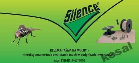 Silence klejąca taśma na muchy 400m - uzupełniacz (1)