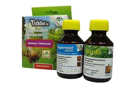 TickOut Set zestaw środek płyn na komary 2x100ml (2)