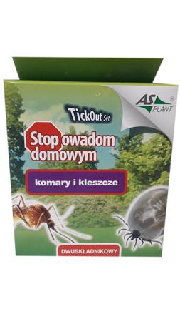 TickOut Set zestaw środek płyn na komary 2x100ml (1)