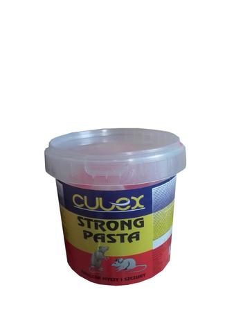 Culex STRONG Pasta BARDZO MOCNA I SKUTECZNA PASTA BRODIFAKUM NA MYSZY I SZCZURY 500 G (1)