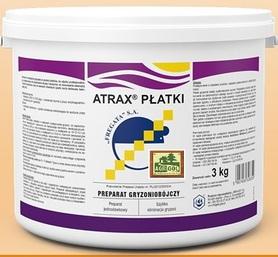 Atrax Płatki op. 3kg difenakum