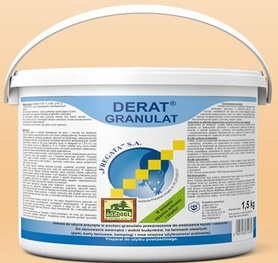 DERAT GRANULAT 1,5kg brodifakum