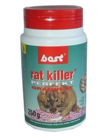 RAT KILLER granulat myszy,szczury,trutka 250g
