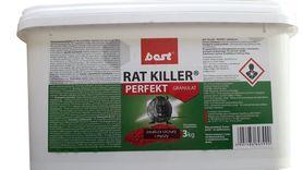 RAT KILLER granulat myszy,szczury,trutka 3KG