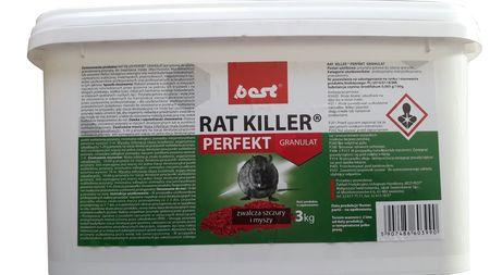 RAT KILLER granulat myszy,szczury,trutka 3KG (1)