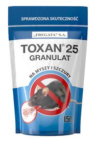 TOXAN GRANULAT Toxan 25 na myszy, szczury, gryzonie 150g