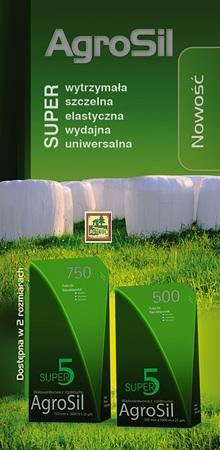 Folia Sianokiszonka AGROSIL Super 5, 500X1800 5WARSTW (1)