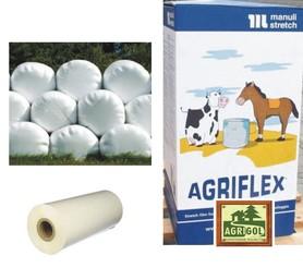 Folia do sianokiszonki Agriflex, biała 500 mm