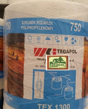 Sznurek Rolniczy TEX 1300 TEGAFOL 3000m (1)