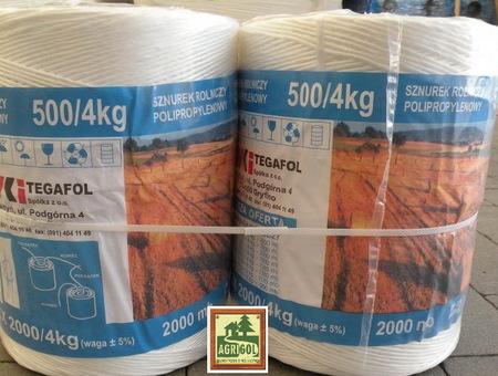 Sznurek Rolniczy TEX 2000 TEGAFOL 2000m (1)