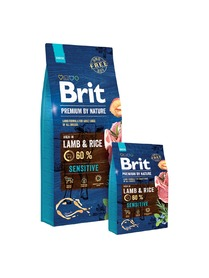 BRIT Premium By Nature Sensitive LAMB - jagnięcina
