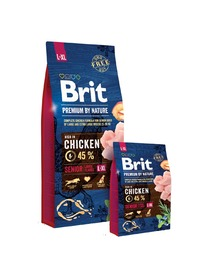 BRIT Karma Premium By Nature Senior LARGE XL 15kg