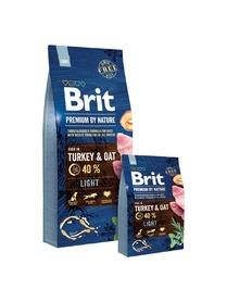 BRIT Premium ByNature LIGHT 15kg dla psa z nadwagą