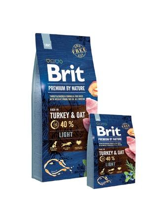 BRIT Premium ByNature LIGHT 15kg dla psa z nadwagą (1)